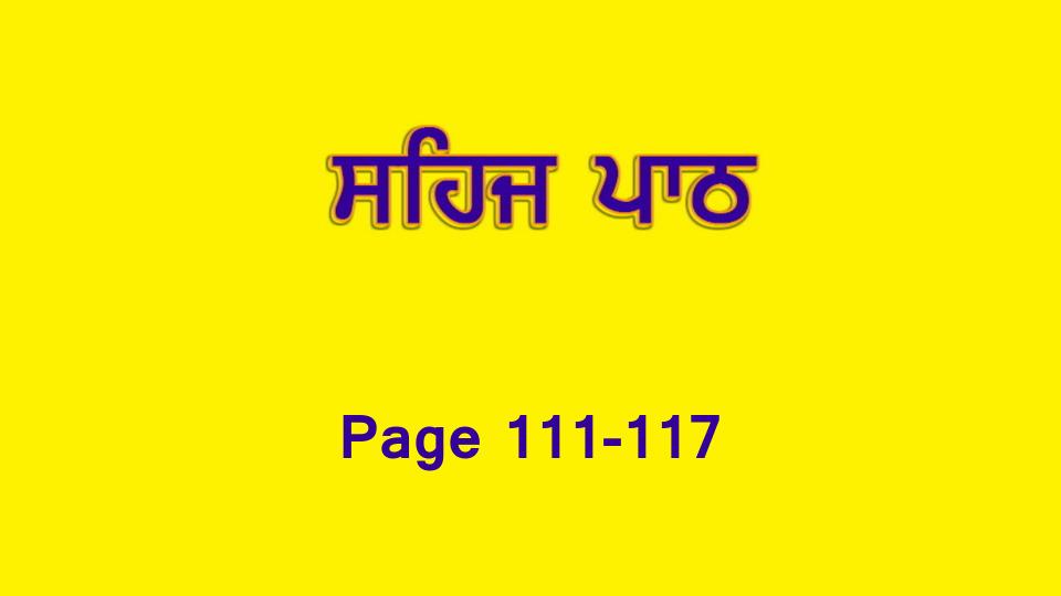 Sehaj Paath 023 (Page 111-117)