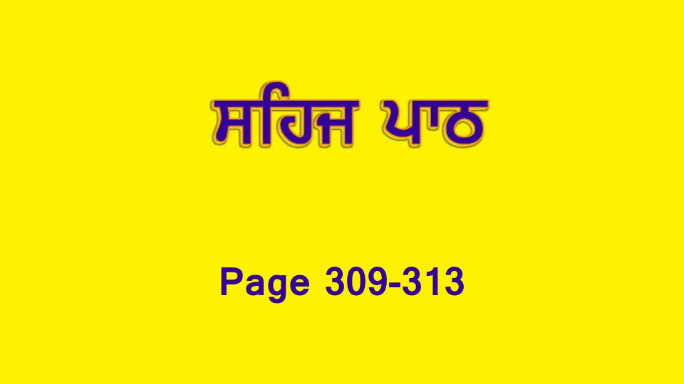 Sehaj Paath 065 (Page 309-313)