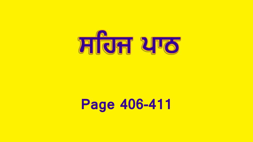 Sehaj Paath 086 (Page 406-411)