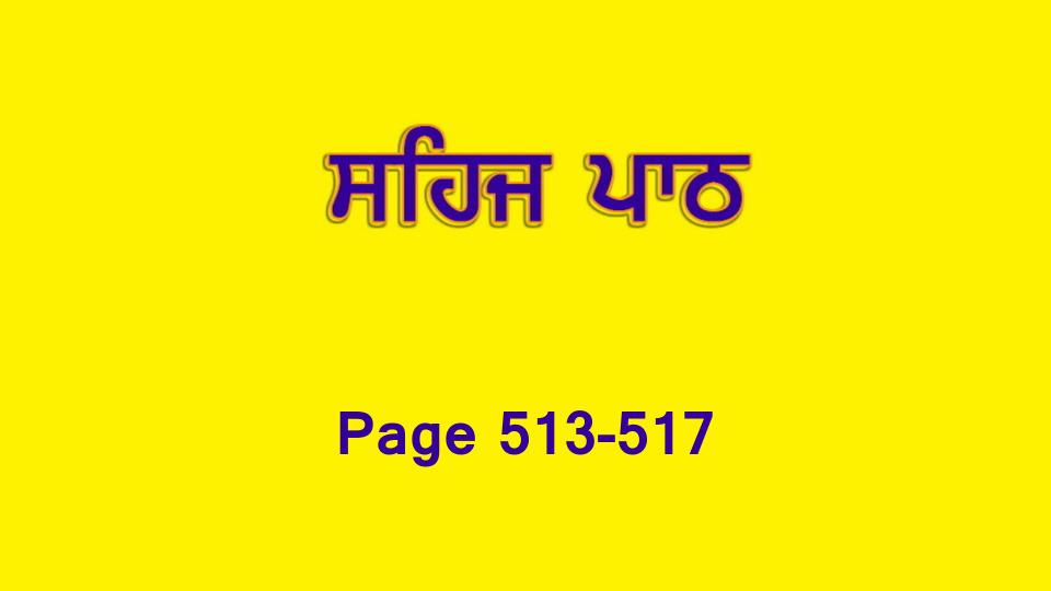 Sehaj Paath 111 (Page 513-517)