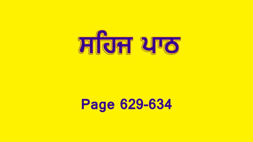 Sehaj Paath 138 (Page 629-634)