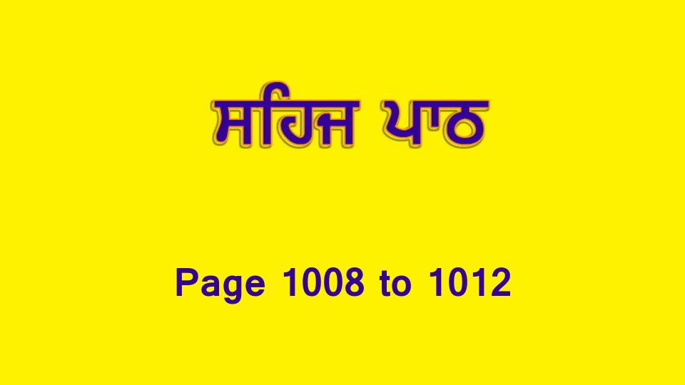 Sehaj Paath (Page 1008 to 1012) #221 by Daljit Singh Dhillon