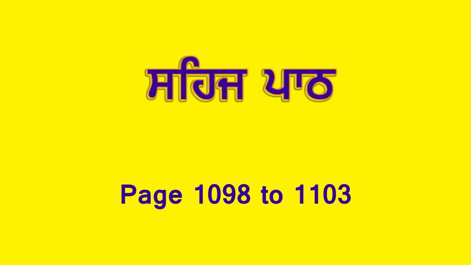 Sehaj Paath (Page 1098 to 1103) #241 by Daljit Singh Dhillon