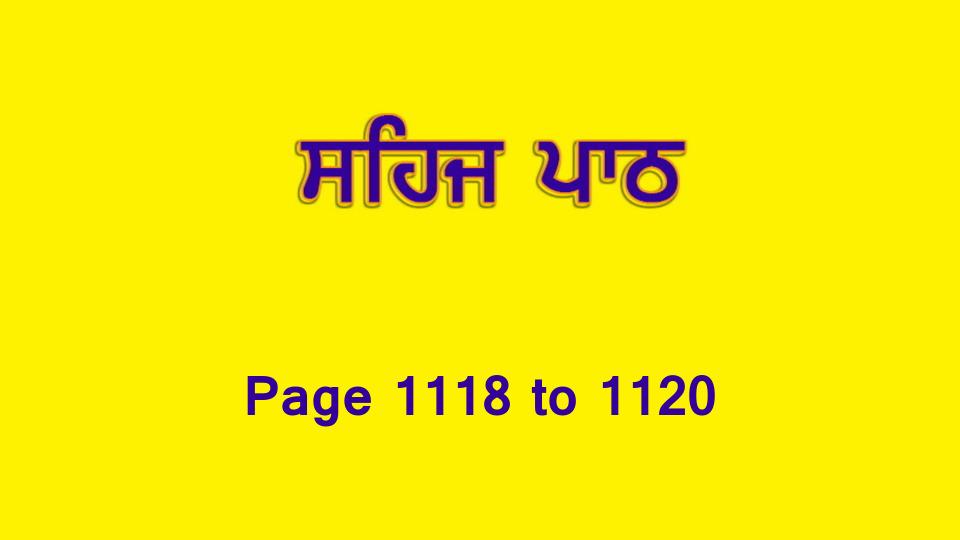 Sehaj Paath (Page 1118 to 1120) #245 by Daljit Singh Dhillon