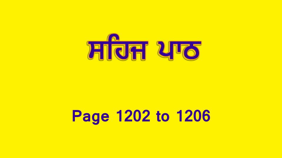 Sehaj Paath (Page 1202 to 1206) #264 by Daljit Singh Dhillon