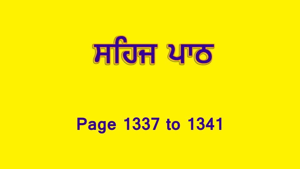 Sehaj Paath (Page 1337 to 1341) #293 by Daljit Singh Dhillon