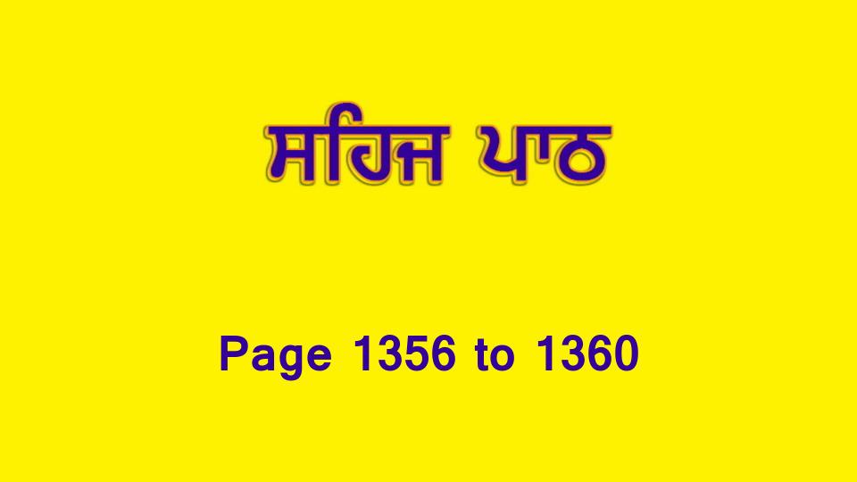 Sehaj Paath (Page 1356 to 1360) #297 by Daljit Singh Dhillon