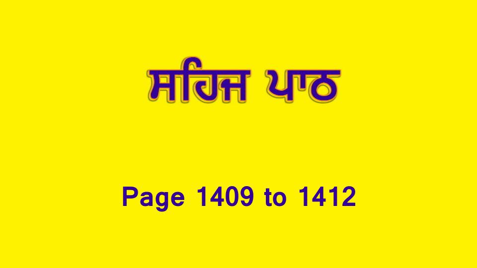 Sehaj Paath (Page 1409 to 1412) #311 by Daljit Singh Dhillon